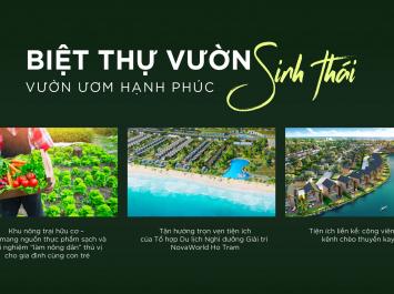 Biệt Thự Vườn Sinh Thái Novaworld Hồ Tràm